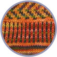 Fair Isle Sock Kit #3 - Fred Flintstone & Rolling Stone