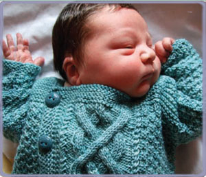 Baby Boy Knit Sweater