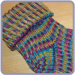 Sock Patterns : Blue Moon Fiber Arts , Inc., Custom yarns, patterns, kits, an...
